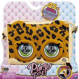 Purse Pets LeoLuxe Leopard - Over 25 Sounds & Reactions - NEW!